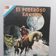 Tebeos: EL PODEROSO SANSÓN N° 48 SERIE ÁGUILA - ORIGINAL EDITORIAL NOVARO. Lote 179144547