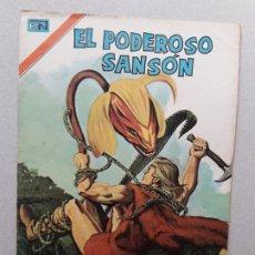 Tebeos: EL PODEROSO SANSÓN N° 47 SERIE ÁGUILA - ORIGINAL EDITORIAL NOVARO. Lote 179144691