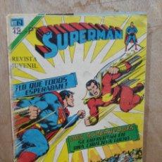 Tebeos: SUPERMAN, SERIE ÁGUILA - AÑO XXIV, Nº 1046 - ED. NOVARO. Lote 179149878