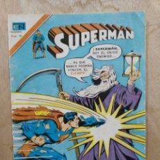Tebeos: SUPERMAN, SERIE ÁGUILA - AÑO XXV, Nº 2-1110, LA PÉRDIDA DEL TRAJE DE SUPERMAN - ED. NOVARO. Lote 179150130
