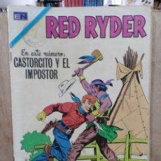 Tebeos: RED RYDER - AÑO XVII, Nº 254, CASTORCITO Y EL IMPOSTOR - ED. NOVARO. Lote 179155300