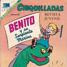 Tebeos: COMIC COLECCION CHIQUILLADAS EN TV Nº 254. Lote 179228867