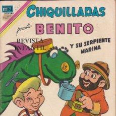 Tebeos: COMIC COLECCION CHIQUILLADAS EN TV Nº 268. Lote 179228970