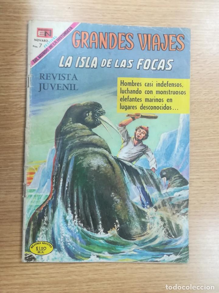GRANDES VIAJES #81 - LA ISLA DE LAS FOCAS (Tebeos y Comics - Novaro - Grandes Viajes)