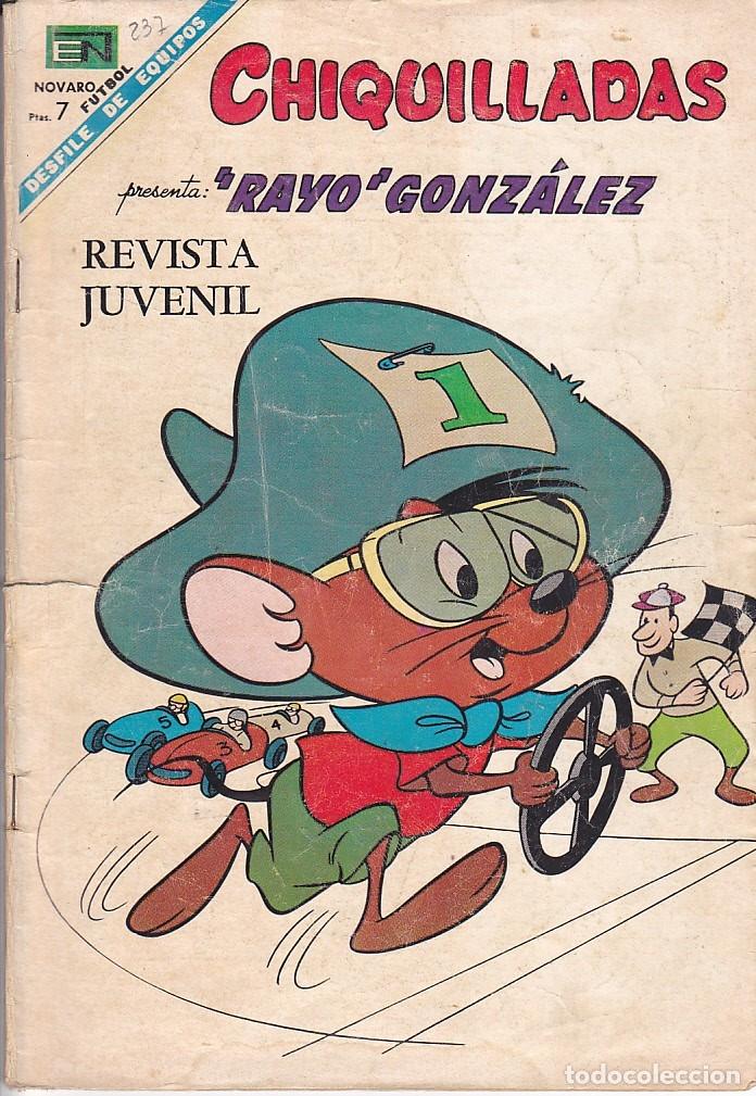 COMIC COLECCION CHIQUILLADAS Nº 237 (Tebeos y Comics - Novaro - Otros)