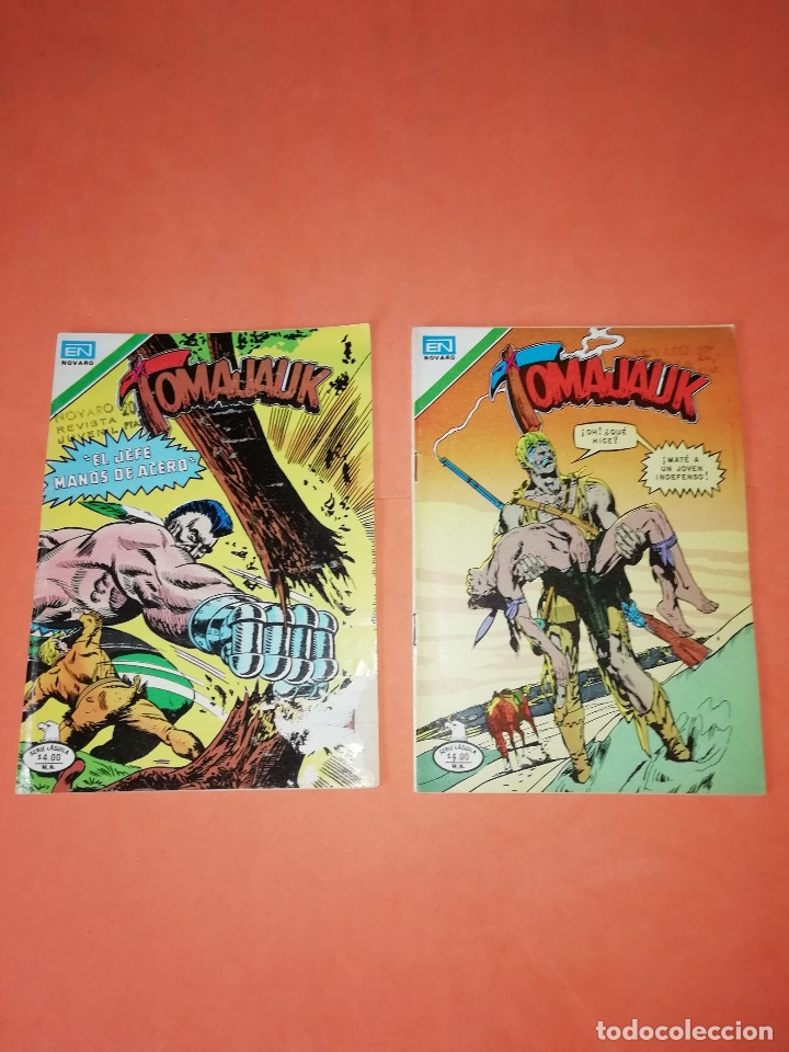 TOMAJAUK. NOVARO. SERIE AGUILA. 2-295 Y 2-302. 1979. (Tebeos y Comics - Novaro - Otros)