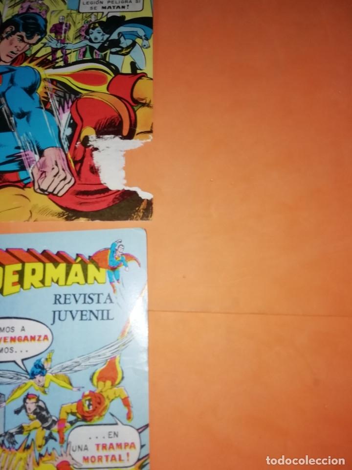 Tebeos: SUPERMAN. NOVARO.1979. Nº 2- 1111. 1167.1199 Y 1211. RASGUÑOS EN PORTADA. - Foto 3 - 179948075