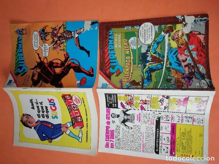 Tebeos: SUPERMAN. NOVARO.1979. Nº 2- 1111. 1167.1199 Y 1211. RASGUÑOS EN PORTADA. - Foto 6 - 179948075