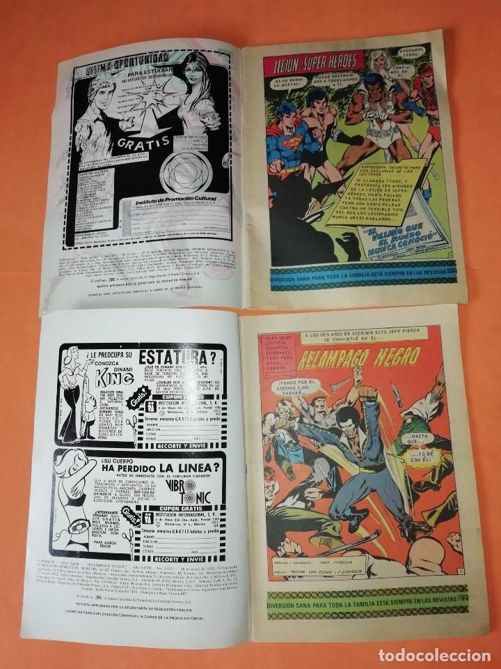 Tebeos: SUPERMAN. NOVARO.1979. Nº 2- 1111. 1167.1199 Y 1211. RASGUÑOS EN PORTADA. - Foto 8 - 179948075