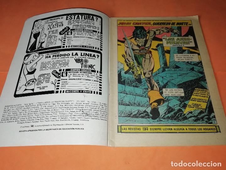 Tebeos: DAGAR EL INVENCIBLE Y JOHN CARTER. DOMINGOS ALEGRES NOVARO. Nº 2-1303 Y 2-1311 - Foto 2 - 179951128