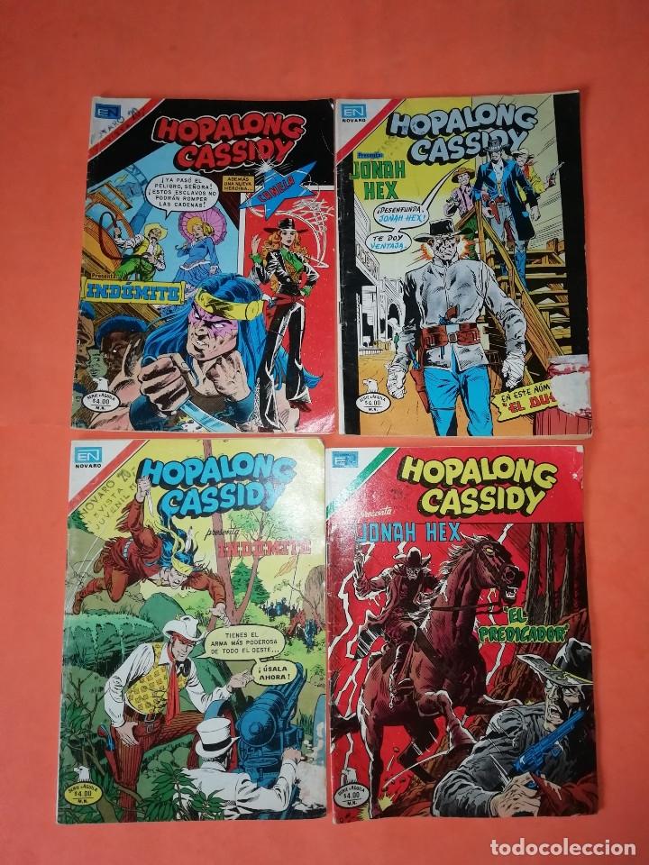 HOPALONG CASSIDY. INDOMITO Y JONAH HEX. NOVARO . Nº 2- 305,313,304 Y312. (Tebeos y Comics - Novaro - Hopalong Cassidy)