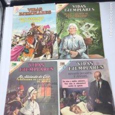 Tebeos: 9 REVISTAS DE VIDAS EJEMPLARES DE NOVARO MEXICO 1969 DIFERENTES TITULOS SAN FERNANDO ALEXIS CARREL .. Lote 180006056