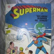Tebeos: SUPERMAN. NUM 142. NOVARO 1958. Lote 180104085