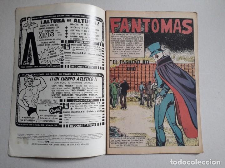 Tebeos: Fantomas n° 3-82 - original editorial Novaro - Foto 2 - 180158956