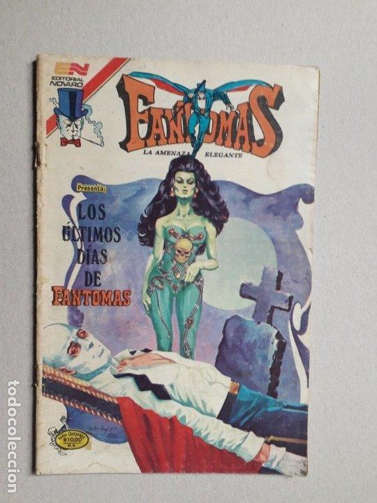 FANTOMAS N° 3-80 SERIE AVESTRUZ - ORIGINAL EDITORIAL NOVARO (Tebeos y Comics - Novaro - Otros)