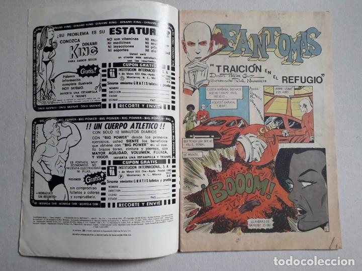 Tebeos: Fantomas n° 3-51 serie Avestruz - original editorial Novaro - Foto 2 - 180160173