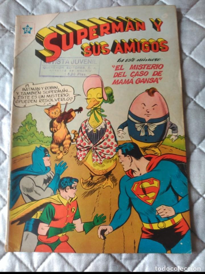 SUPERMAN Y SUS AMIGOS Nº 16 NOVARO (Tebeos y Comics - Novaro - Superman)