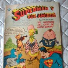 Tebeos: SUPERMAN Y SUS AMIGOS Nº 16 NOVARO. Lote 180184401