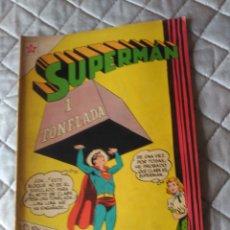 Tebeos: SUPERMAN NOVARO Nº 82 MUY DIFÍCIL Y EN EXCELENTE ESTADO. Lote 180188295