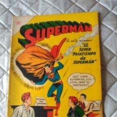 Tebeos: SUPERMAN NOVARO Nº 80 MUY DIFÍCIL Y EN EXCELENTE ESTADO. Lote 180188501