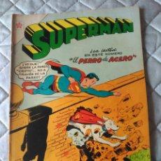 Tebeos: SUPERMAN NOVARO Nº 76 MUY DIFÍCIL Y EXCELENTE ESTADO. Lote 180189550