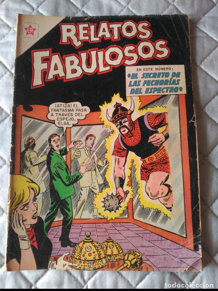 RELATOS FABULOSOS Nº 43 MUY DIFÍCIL (Tebeos y Comics - Novaro - Sci-Fi)