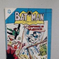 Tebeos: BATMAN N° 261 - CAMPEONES DE LA JUSTICIA IMPECABLE! - ORIGINAL EDITORIAL NOVARO. Lote 180231130