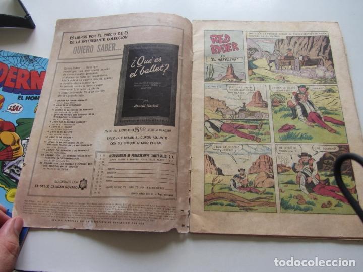 Tebeos: RED RYDER Nº 128 EDITORIAL NOVARO 1965 CX27 - Foto 3 - 180265466