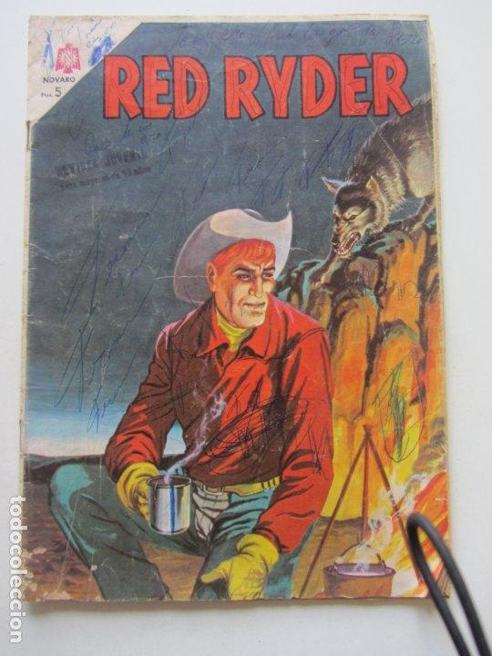 RED RYDER Nº 128 EDITORIAL NOVARO 1965 CX27 (Tebeos y Comics - Novaro - Red Ryder)