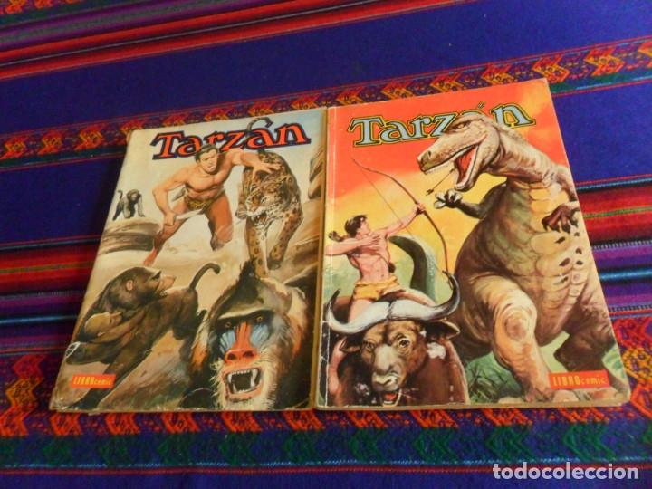 NOVARO LIBRO COMIC LIBROCOMIC TARZAN NºS XXI 21 Y XXIX 29. 1976. 55 PTS. (Tebeos y Comics - Novaro - Tarzán)