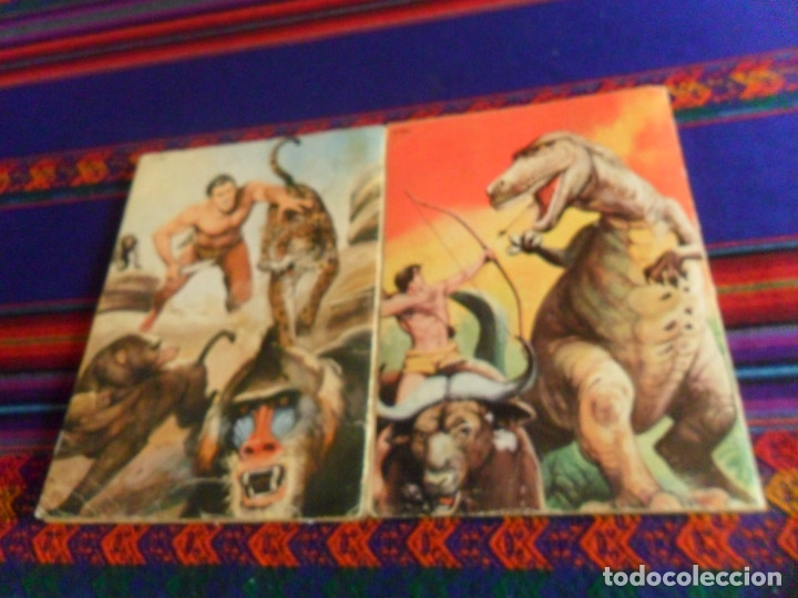Tebeos: NOVARO LIBRO COMIC LIBROCOMIC TARZAN NºS XXI 21 Y XXIX 29. 1976. 55 PTS. - Foto 3 - 180296487