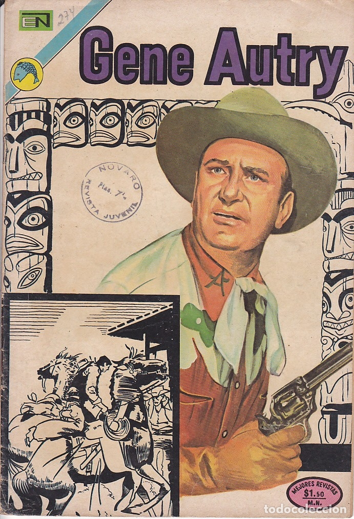 COMIC COLECCION GENE AUTRY Nº 274 (Tebeos y Comics - Novaro - Otros)