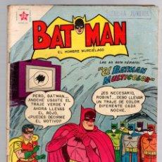 Giornalini: BATMAN. Nº 58. 1 DE NOVIEMBRE DE 1958. EL BATMAN MULTICOLOR. Lote 180343918