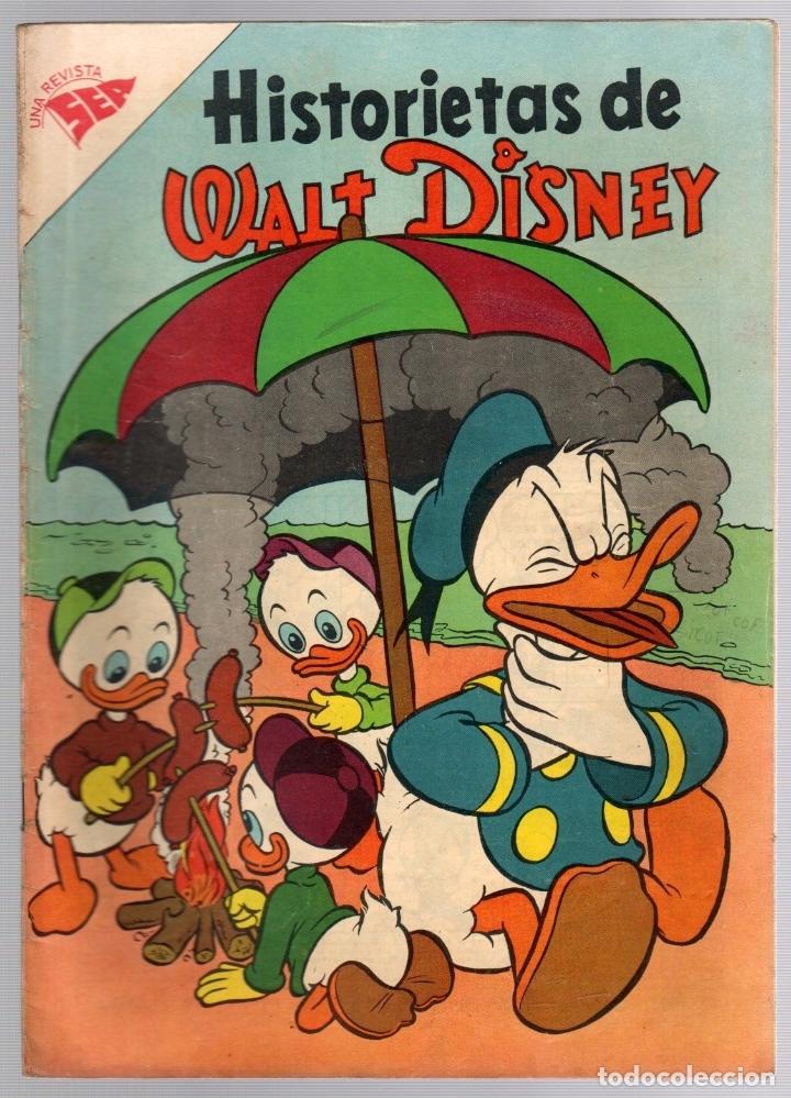 HISTORIETAS DE WALT DISNEY. SEA. Nº 121. 15 DE MAYO DE 1958 (Tebeos y Comics - Novaro - Otros)