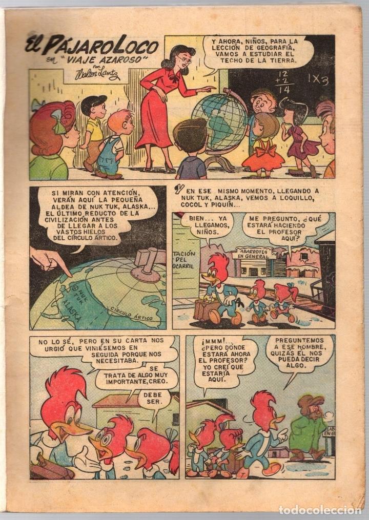 Tebeos: EL PAJARO LOCO. NUMERO EXTRAORDINARIO DE PRIMAVERA. 1 DE ABRIL DE 1958 - Foto 2 - 180346560