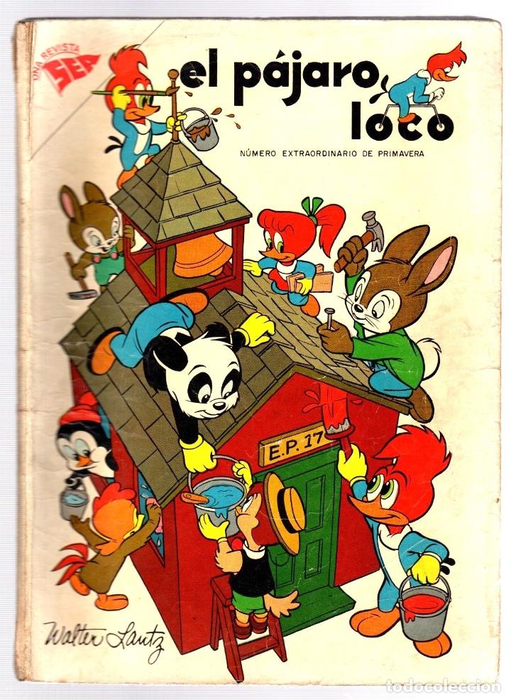 EL PAJARO LOCO. NUMERO EXTRAORDINARIO DE PRIMAVERA. 1 DE ABRIL DE 1958 (Tebeos y Comics - Novaro - Otros)