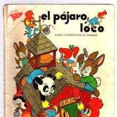 Tebeos: EL PAJARO LOCO. NUMERO EXTRAORDINARIO DE PRIMAVERA. 1 DE ABRIL DE 1958. Lote 180346560