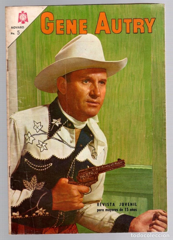 GENE AUTRY. Nº 149. 1 DE AGOSTO DE 1966. NOVARO (Tebeos y Comics - Novaro - Otros)