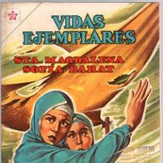 BDs: VIDAS EJEMPLARES. STA. MAGDALENA SOFIA BARAT. Nº 126. 1 DE JUNIO DE 1962. Lote 180347811