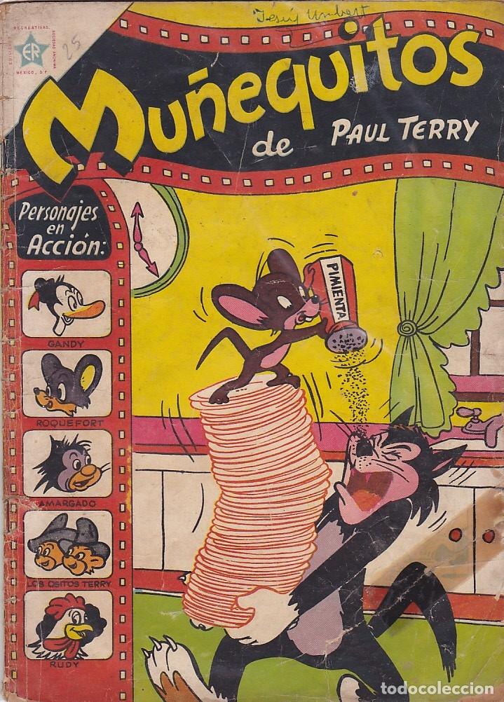 COMIC COLECCION MUÑEQUITOS Nº 25 (Tebeos y Comics - Novaro - Otros)