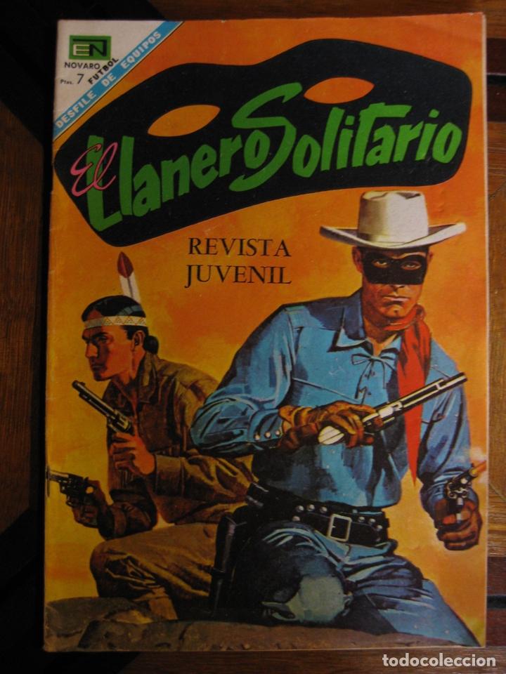 EL LLANERO SOLITARIO - NOVARO Nº185 (Tebeos y Comics - Novaro - El Llanero Solitario)