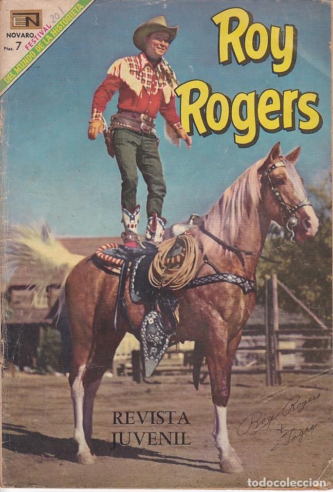 COMIC COLECCION ROY ROGERS Nº 201 (Tebeos y Comics - Novaro - Roy Roger)