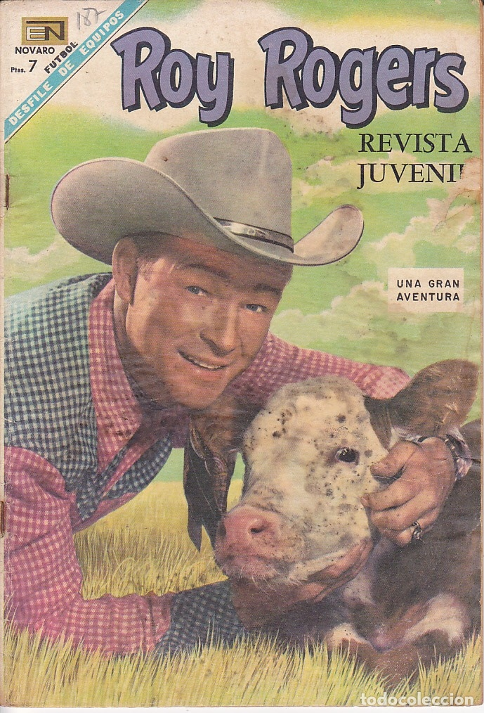 COMIC COLECCION ROY ROGERS Nº 187 (Tebeos y Comics - Novaro - Roy Roger)