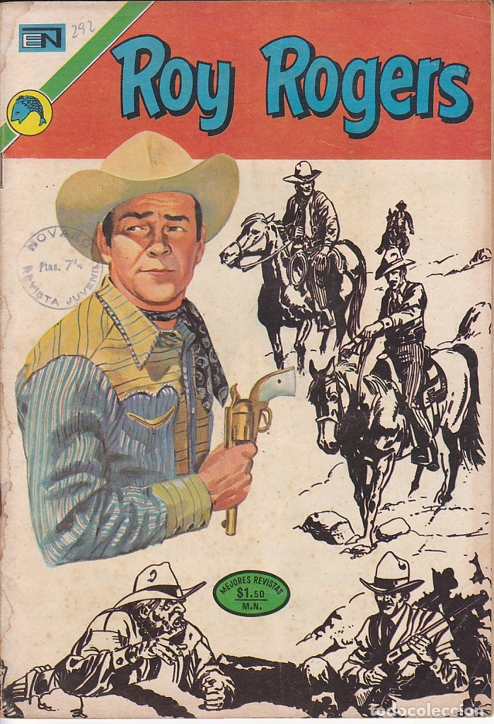 Tebeos: COMIC COLECCION ROY ROGERS Nº 292 - Foto 1 - 180486786