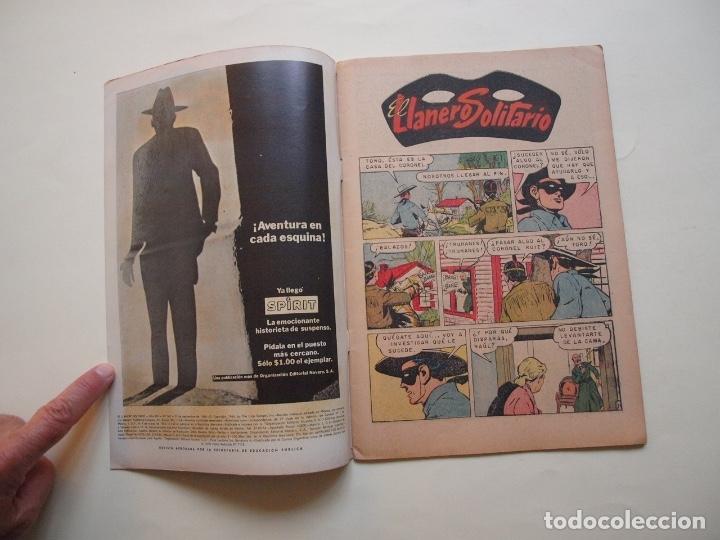 Tebeos: EL LLANERO SOLITARIO Nº 162 - NOVARO 1966 - Foto 2 - 180876646