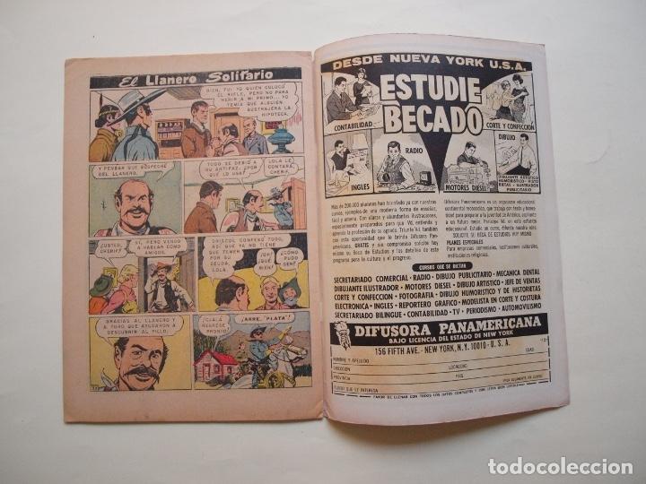 Tebeos: EL LLANERO SOLITARIO Nº 162 - NOVARO 1966 - Foto 4 - 180876646