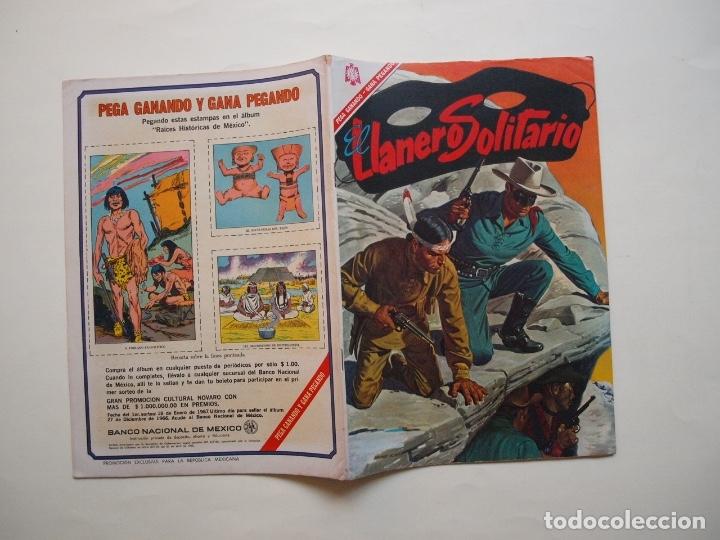 Tebeos: EL LLANERO SOLITARIO Nº 162 - NOVARO 1966 - Foto 6 - 180876646