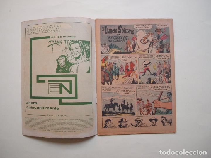 Tebeos: EL LLANERO SOLITARIO Nº 221 - NOVARO 1970 - Foto 2 - 180877705