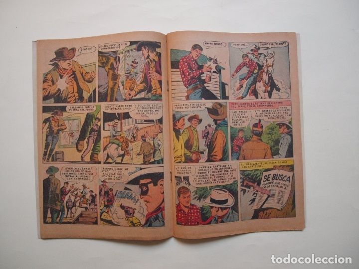 Tebeos: EL LLANERO SOLITARIO Nº 221 - NOVARO 1970 - Foto 3 - 180877705