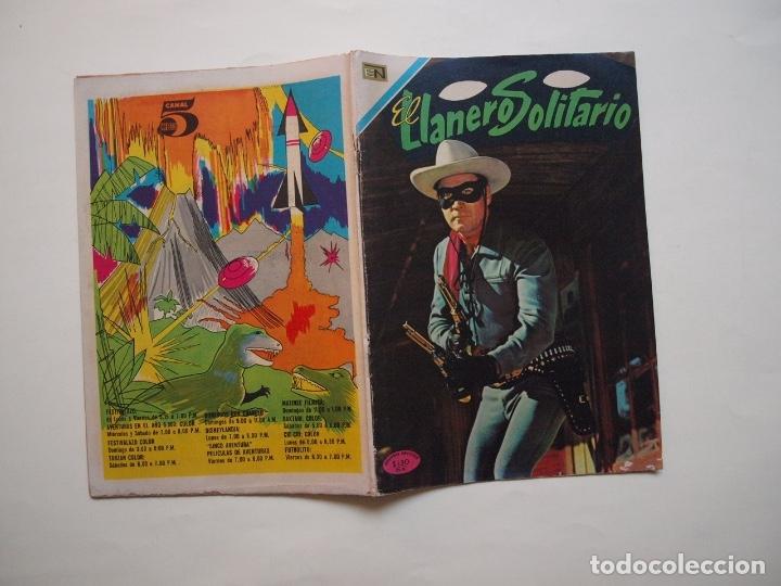Tebeos: EL LLANERO SOLITARIO Nº 221 - NOVARO 1970 - Foto 6 - 180877705